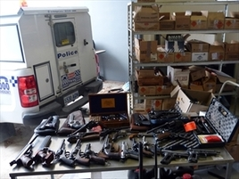 Police Seize 77 Guns From Property In South Australia