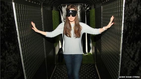 Sensory Tunnel Re-creates Blind Challenges for Police