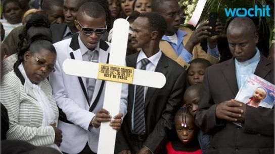Hero's Burial For Kenyan Police Officer Who Helped Stop al-Shabab Attack