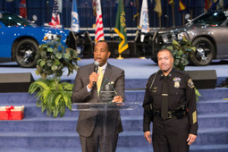 Detroit Police Chief, joins Greater Grace Temple's Law Enforcement Appreciation and Prayer Day