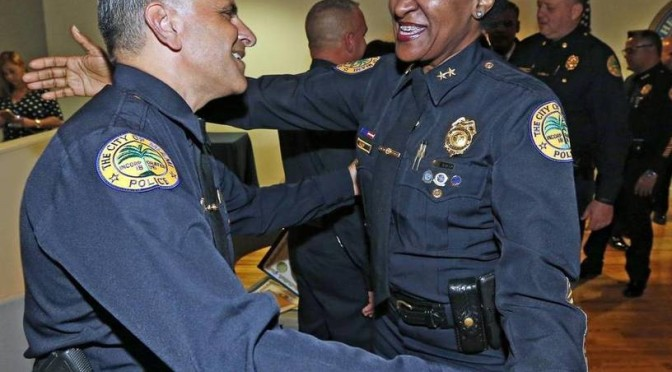 Miami Police Command Staff, Union Chief Differ Over Flag Pledge