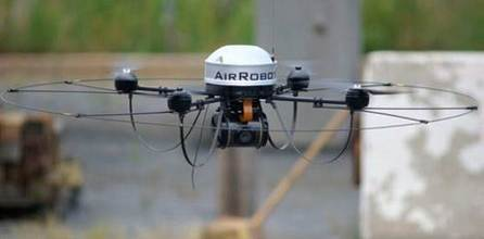 AirRobot and Remotec Distribute UAV to Law Enforcement and First Responders
