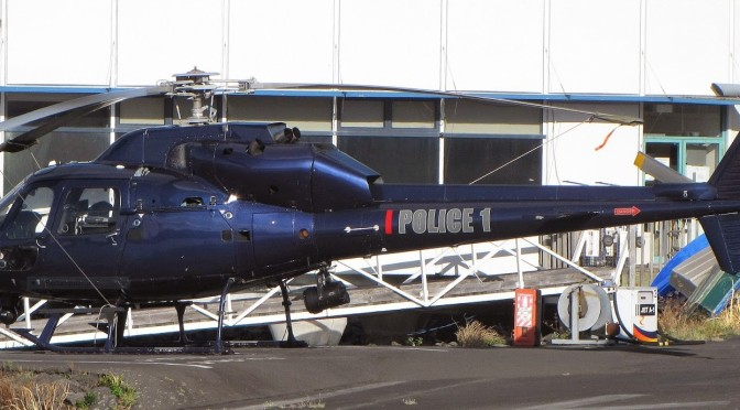 Police Eagle Helicopter Keeps Auckland Safe Overnight