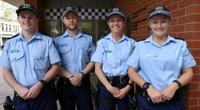 New Police Recruits Join The Ranks at St George LAC