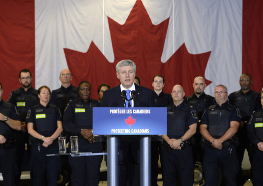 Harper Announces More Anti-Terrorism Funding for RCMP and Border Services