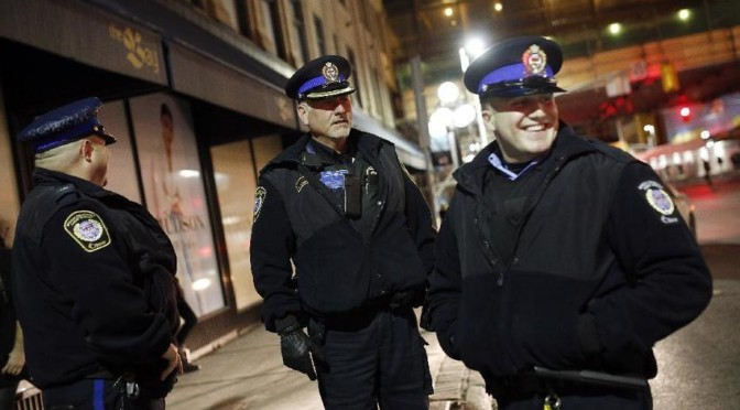 A Night With Ottawa's Transit Cops