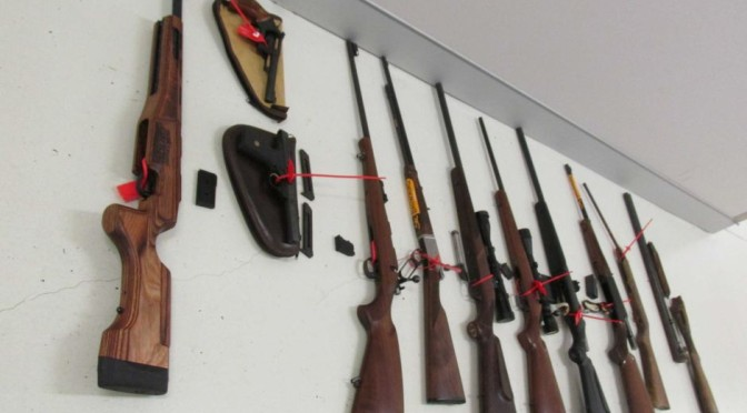 ACT Police Seize Rifles, Shotguns, Other Firearms And Ammunition In Canberra