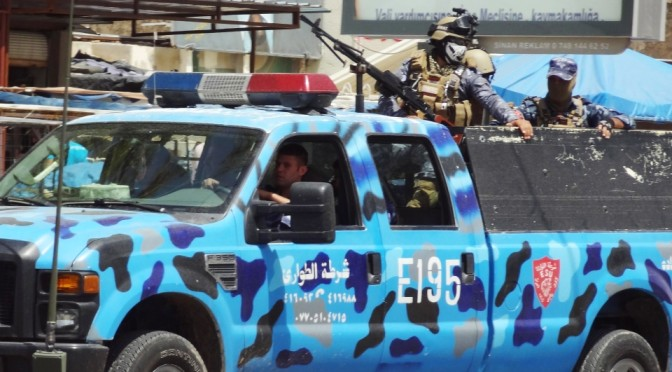 150 Police Officers Surrounded By ISIS Terrorists In Ramadi, Iraq
