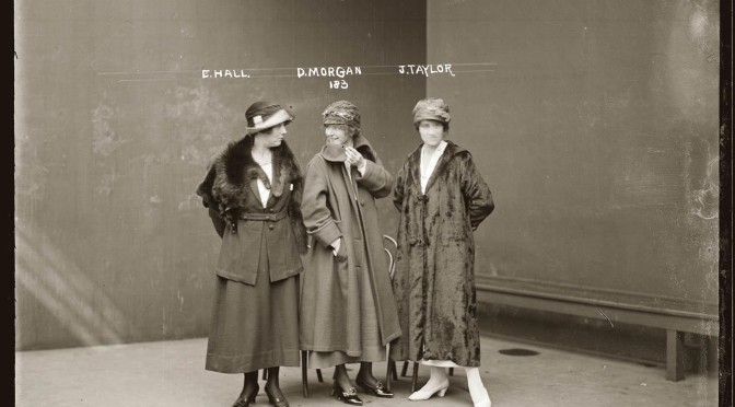 Explore The Sydney Living Museums' 1920s NSW Police Detainees And Suspects