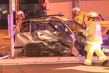 Woman Climbs From Crash Wreckage, Hit By Second Car Driven By Drunk Driver On Gold Coast