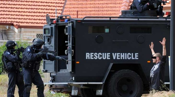 Behind The Scenes With WA's Elite Tactical Response Group Police