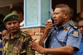 PNG Police Commissioner Geoffrey Vaki Sacked; Replaced By Another Sacked Commish
