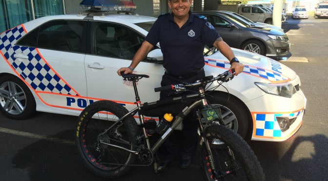 QPS Sgt Frank Falappi To Tackle The Simpson Desert Bike Challenge For Charity
