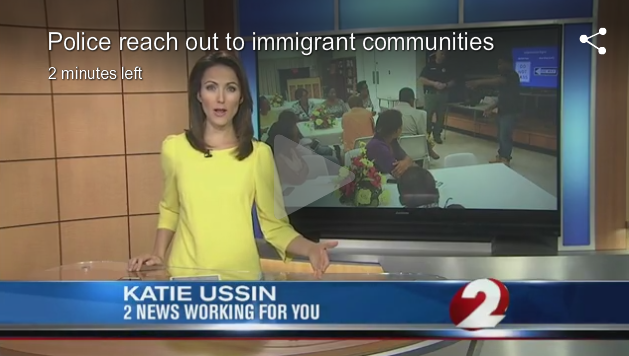 Dayton Police Reach Out To Immigrant Communities