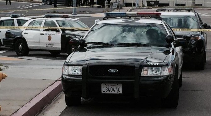 San Diego Police Officer Wounded In Shooting
