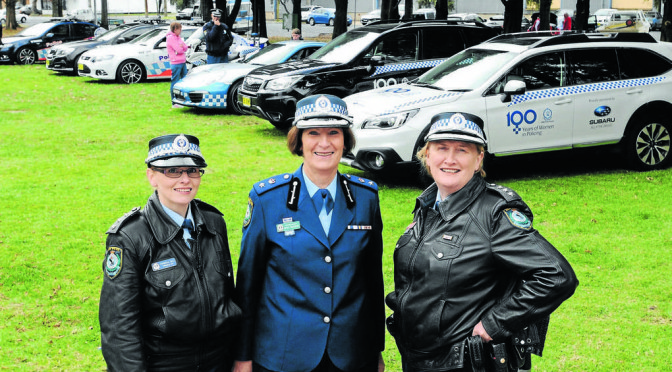Orange Celebrates 100 Years of Women In the NSW Police Force