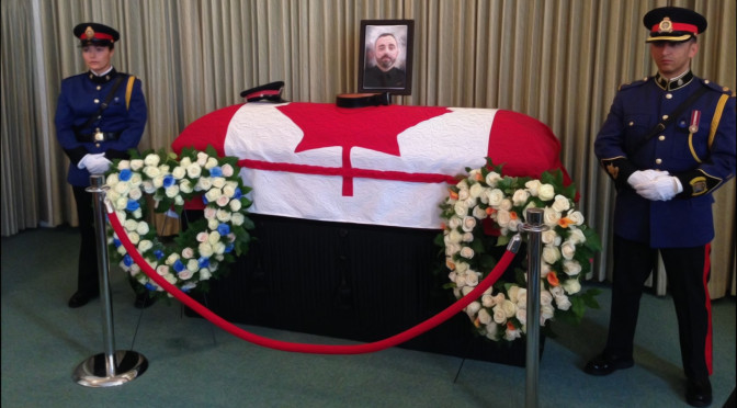Funeral of Constable Daniel Woodall To Draw Thousands of Police Officers