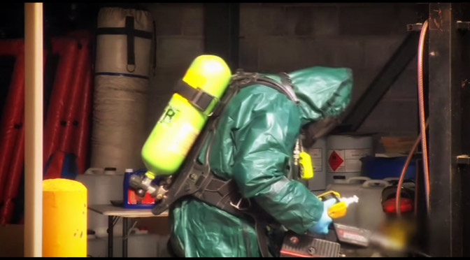 Police Raid Chemical Company Used As A 'Front'  For Drug Labs