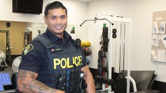 Ontario Provincial Police Officer Wins Provincial Physique Competition
