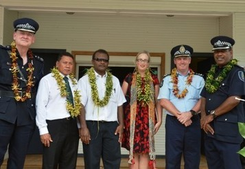 New Solomon Islands Police Station In Auki Opened With Help From RAMSI And AFP
