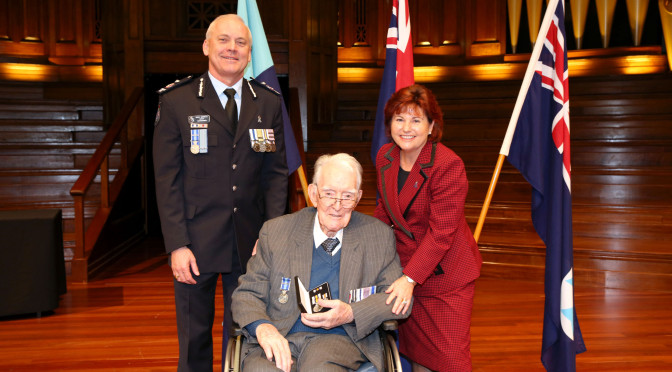 Former QPS Officers Recognised In Special Ceremony