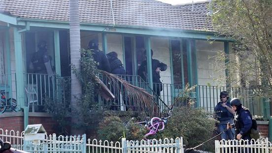 New South Wales Police Use Flashbangs To Resolve Siege Incident At Macquarie Fields