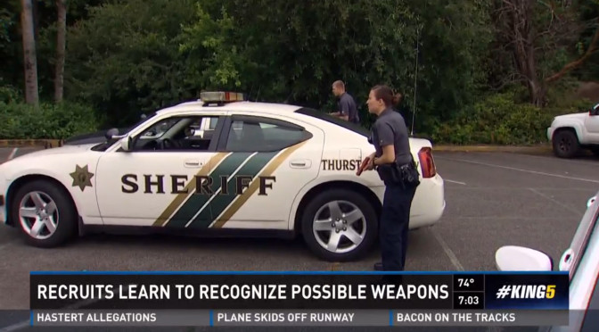 Washington Police Recruits Learn Weapons Come In Many Forms