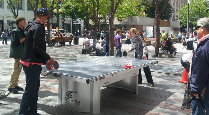 Does Free Ping Pong in Seattle Parks Stop Crime?