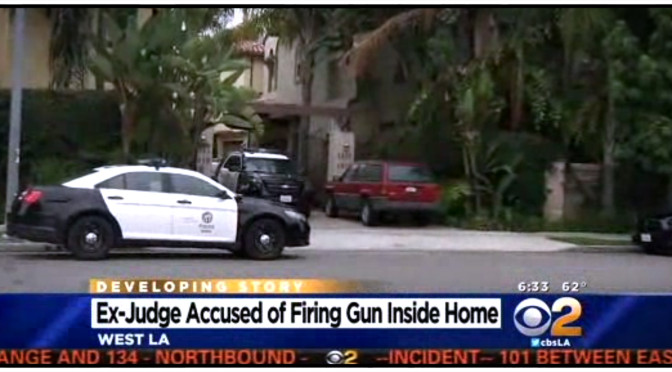 Retired LA Judge Fires On Officers He Called To His Home – Thankfully He Was a Bad Shot