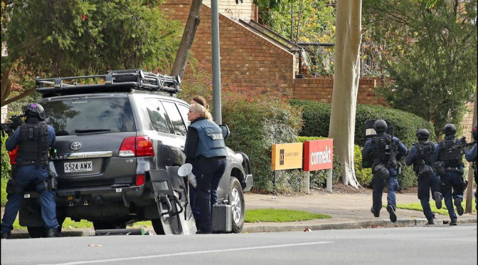 Adelaide's East Terrace Siege: Tourist Reveals Horror of Being Caught Up In Shooting