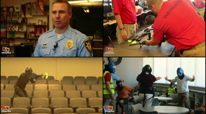 St. George Police Provide First-Hand Look At Active Shooter Response Training