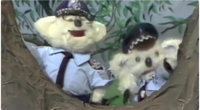 Constable Kenny Koala Still Walking the Beat