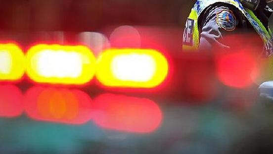 NT Police Car Sideswiped By Road Train While Attending Car Crash At Coolalinga