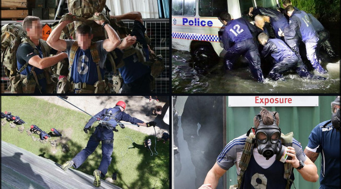 Three Days Of Hell In Quensland Police Special Emergency Response Team Boot Camp