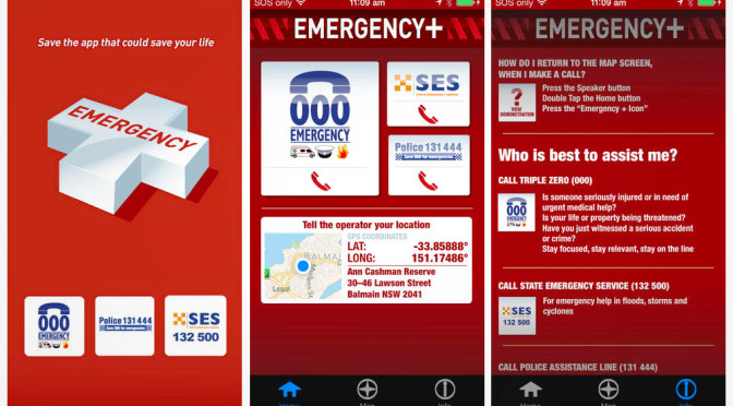Get The Free Emergency + App For Your Smartphone