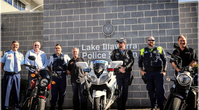 Lake Illawara Officers Prepare To Remember Service And Sacrifice