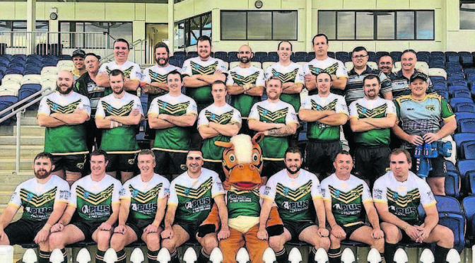 Hunter Valley Police Rugby Team Take On Oxley for Charity