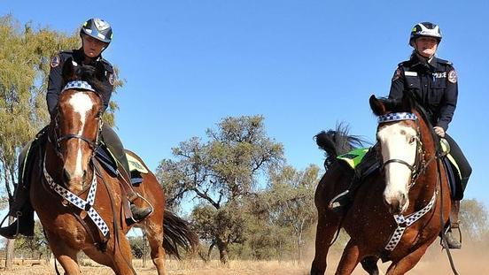 The Alice Mounted Police Saddle Up for Iconic Harts Range Picnic Day Races and Rodeo