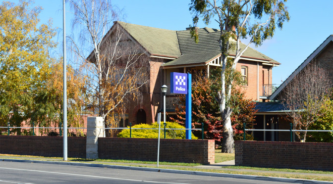 Goulburn Police Station Inspection Time: Commissioner's Visit a Chance To Thank the Troops