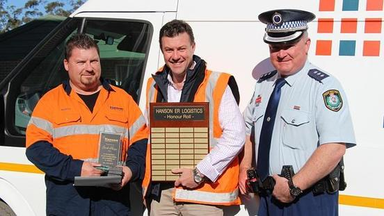 New South Wales Police Thank Truck Driver For Helping Fallen Cyclist