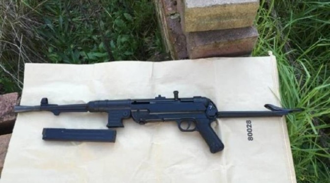 MP-40 Submachine Gun Found In Weapon Stash In Toilet of Abandoned Inner-West Sydney Home