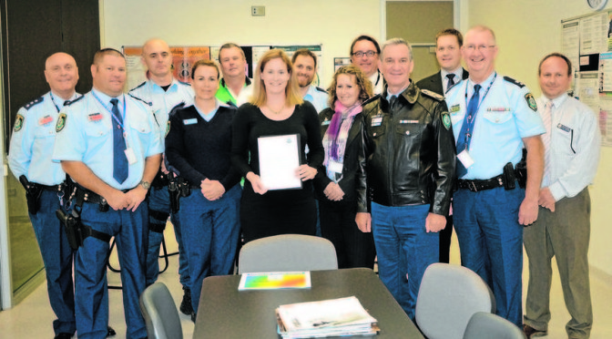 New South Wales Police Senior Constable Ashlyn Johansson Earns a 100 Per Cent Rating Twice