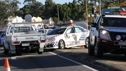 9d8e10e42ac Two Queensland Police Officers Hurt In Capalaba Crash