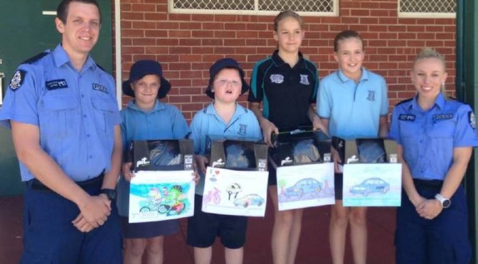 Moora Police Officer Recognised for Dedication and Extensive Work With Local Schools