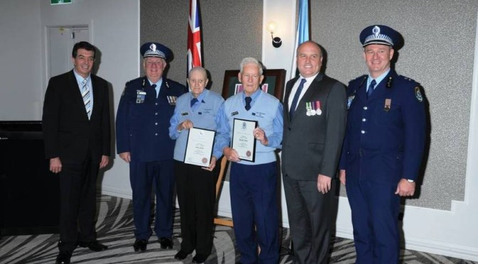 Volunteers, Officers Honoured In Hills Police Ceremony