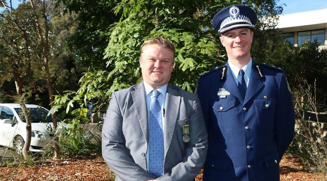 New South Wales Police Officer Honoured For Role In Christchurch Earthquake Support