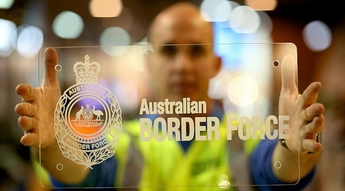 Australian Border Force Becomes Front Line Agency Leading Operation Sovereign Borders