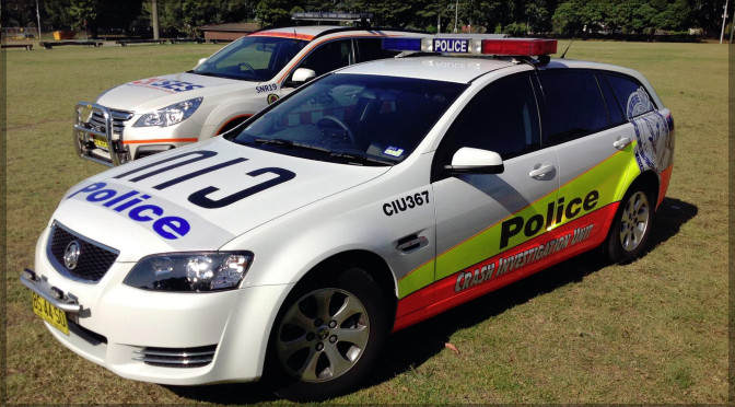 NSW Police Officers And Taxi Driver Escape Camperdown Collision Uninjured