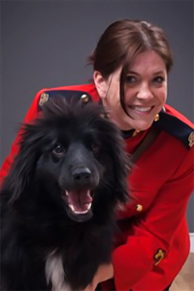 RCMP Constable Annabelle Dionne. Photo: Lori Wilson, Families of the RCMP for PTSD Awareness