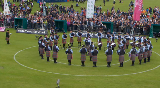 Scotland Celebrates Outstanding World Pipe Band Championships